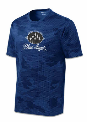 Blue Angels Royal Camo Dry Fit T Shirt