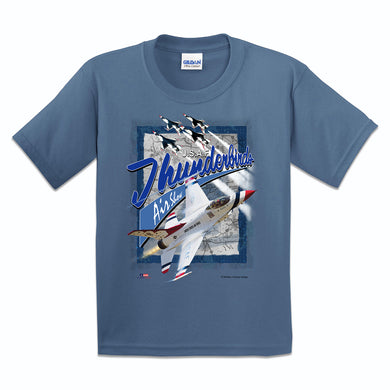 Thunderbirds Air Show Youth T Shirt