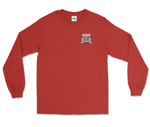 66th Anniversary Red Long Sleeve T-Shirt