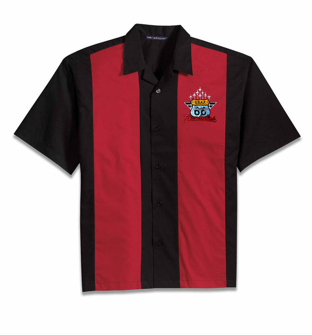 66th Anniversary Embroidered RETRO Camp Shirt