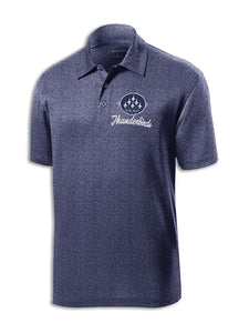 Thunderbirds Heather Navy Polo