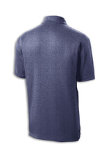 Load image into Gallery viewer, Thunderbirds Heather Navy Polo