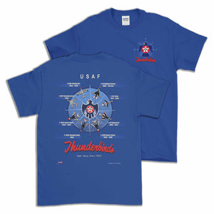 Thunderbirds Historic T-Shirt Design