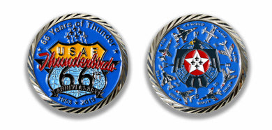 Thunderbirds 66th Anniversary 2019 Challenge Coin