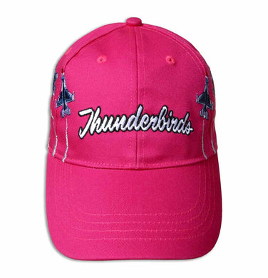 Thunderbirds Embroidered Pink Youth Ball Cap