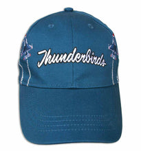 Load image into Gallery viewer, Thunderbirds Embroidered Dark Teal Youth Ball Cap