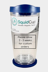 PERSONALIZED 16 oz. SquidCup Non Tip Tumbler with Lid & Base