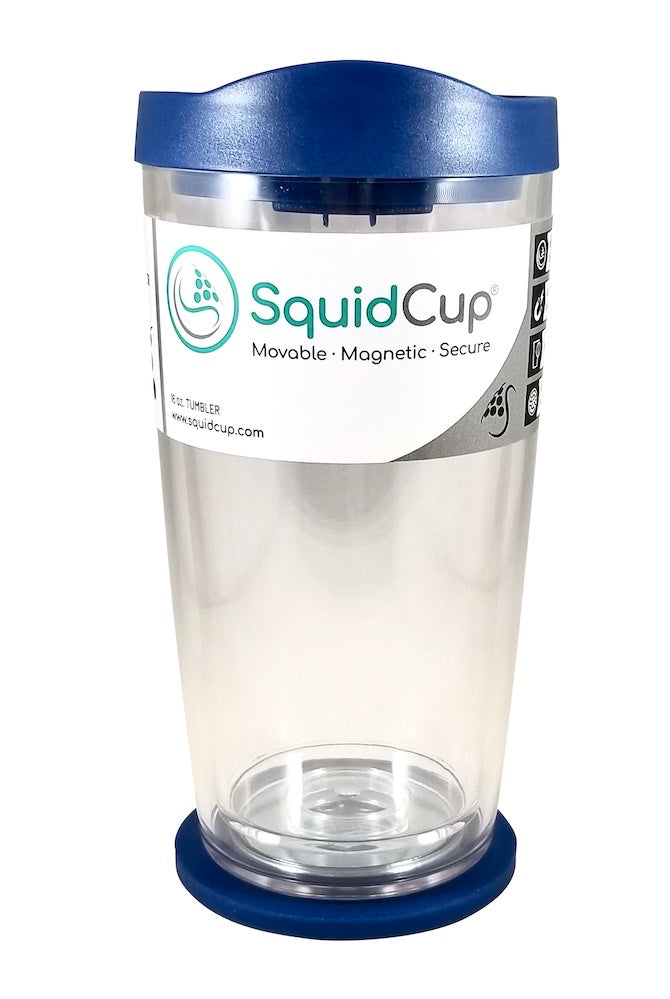 16 oz. SquidCup Non Tip Tumbler with Lid & Base