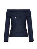 ICONIC PRINCESS COLLAR JACKET
