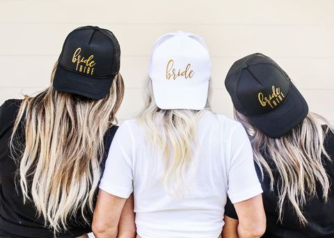 Bride Tribe Hats