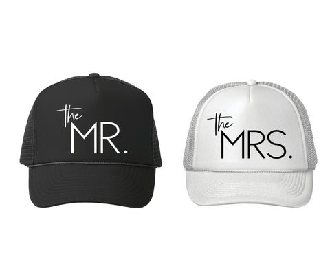 The Mr and Mrs Hats