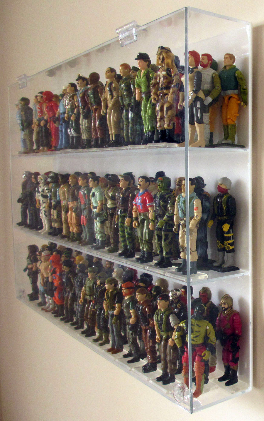 GI Joe Case - 3 Shelves
