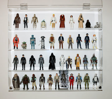 Star Wars Case - 4 Shelves