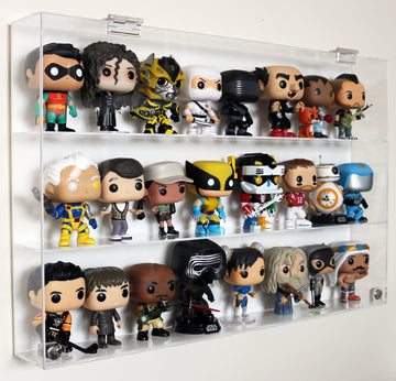 Funko Pop! Case - 3 Shelves