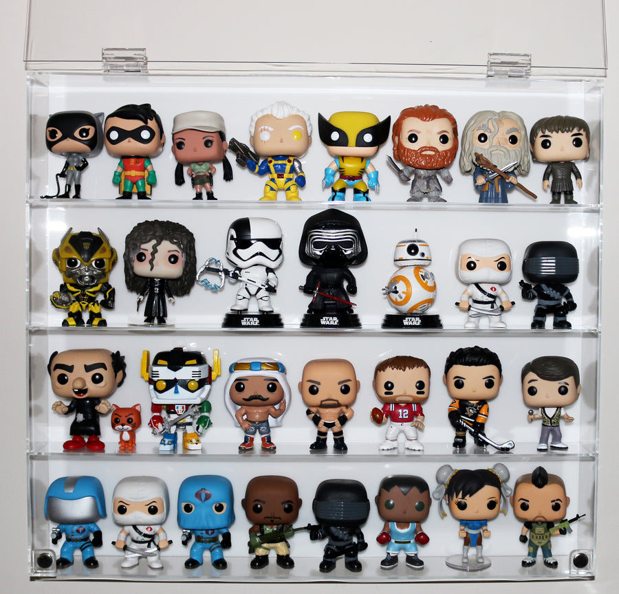 Funko Pop! Case - 4 Shelves