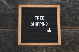 Free shipping on 6 or more. Use code FREE