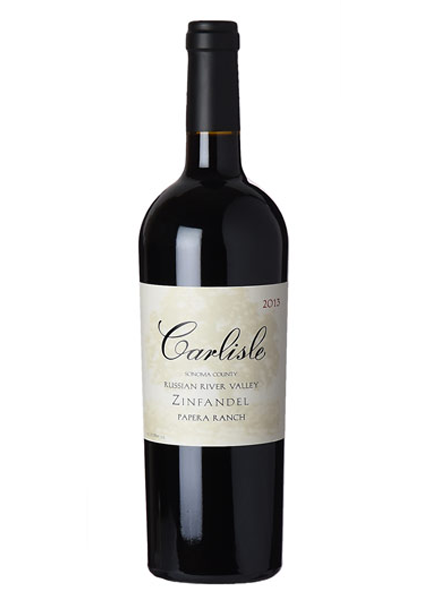 CARLISLE Zinfandel Russian River Valley Papera Ranch 2013