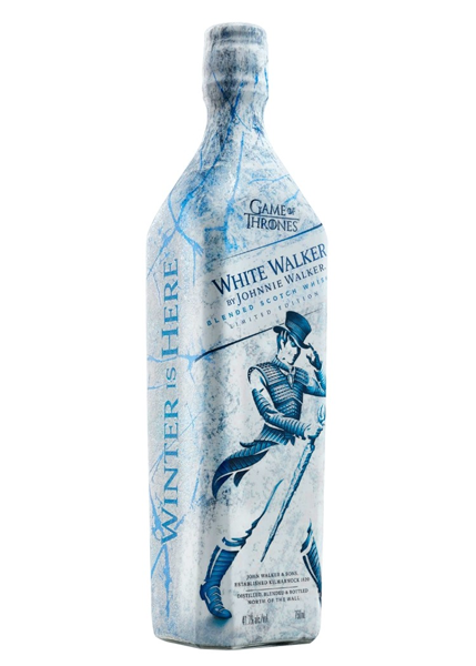 White Walker by Johny Walker Blended Scotch Whisky ( Games of Throne Special Edition) 750ml