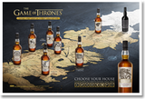 Game of Thrones 'Complete Collection Set' Single Malt Scotch Whisky 750ml x 8