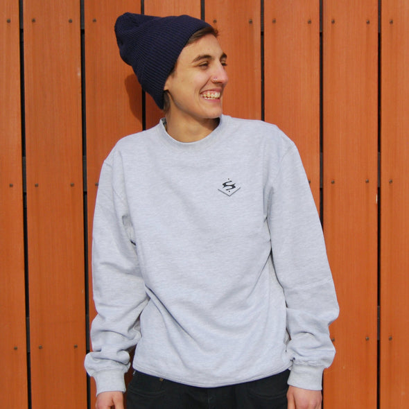 Crewneck Sweatshirt | Heather Grey