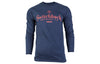Long Sleeve Logo Tee | Navy
