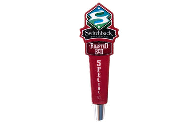 Roasted Red Ale Short Tap Handle