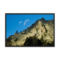 Rockies Framed photo paper poster