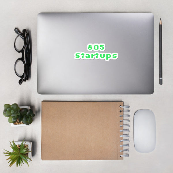 805 Startups - Bubble-free stickers