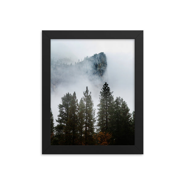 El Cap Framed photo paper poster
