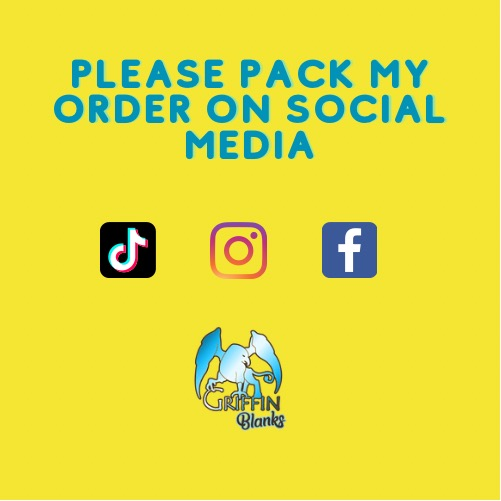 Please Pack My Order On Social Media