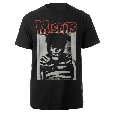 Misfits GD Skull Black Tee-The Misfits