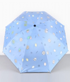 Water-colored lemon umbrella