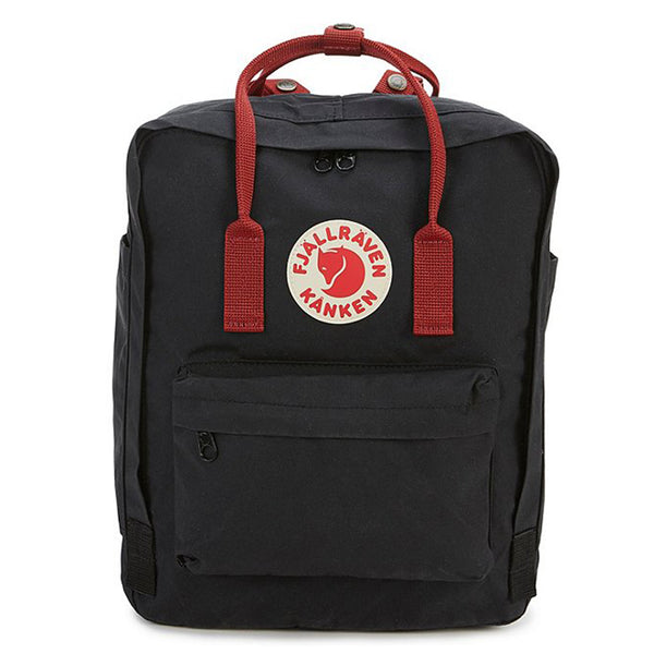 Kanken Mini backpack - Navy Blue with Red Strap