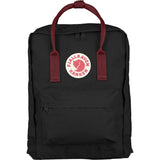 Kanken Mini backpack - Black with Red Strap