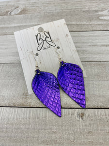 Lily - Purple Fish Scale