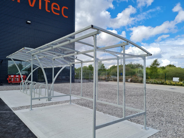 Diamond Smoking Shelter installation in Ellesmere Port
