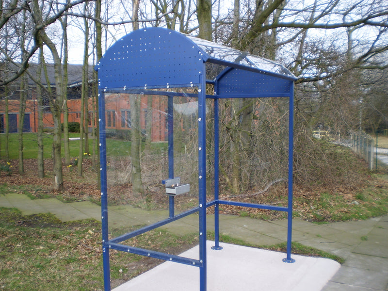 Sapphire Smoking & Vaping Shelter with Robust Steel Frame