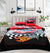 4 Pillows satin Bed Sheet - Disney Car