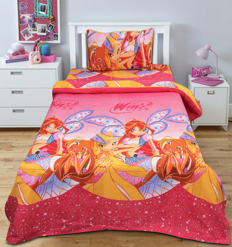Cartoon Character Bed Sheet - Princess