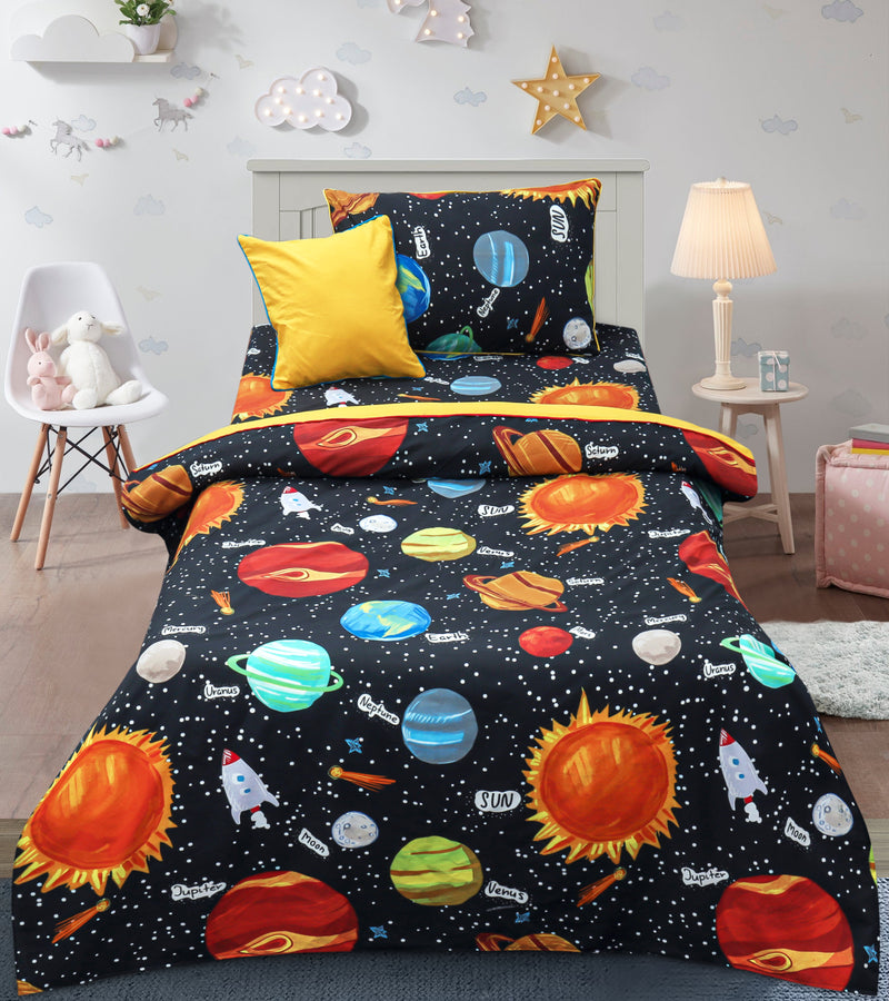 Cartoon Character Bed Sheet - JOJO Sparkling