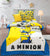 Cartoon Character Bed Sheet - A MINION
