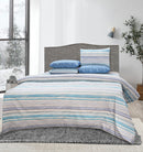 4 Pillows Bed Sheet - Mid Night