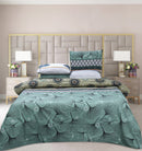 4 Pillows Bed Sheet - Marimekko Teal