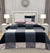 4 Pillows Bed Sheet - Premium Black