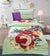 Cartoon Character Bed Sheet - Angry Birds