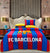 Quilted Reversible Bed Spread Set - FC Barcelona