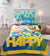 Cartoon Character Bed Sheet - Happy