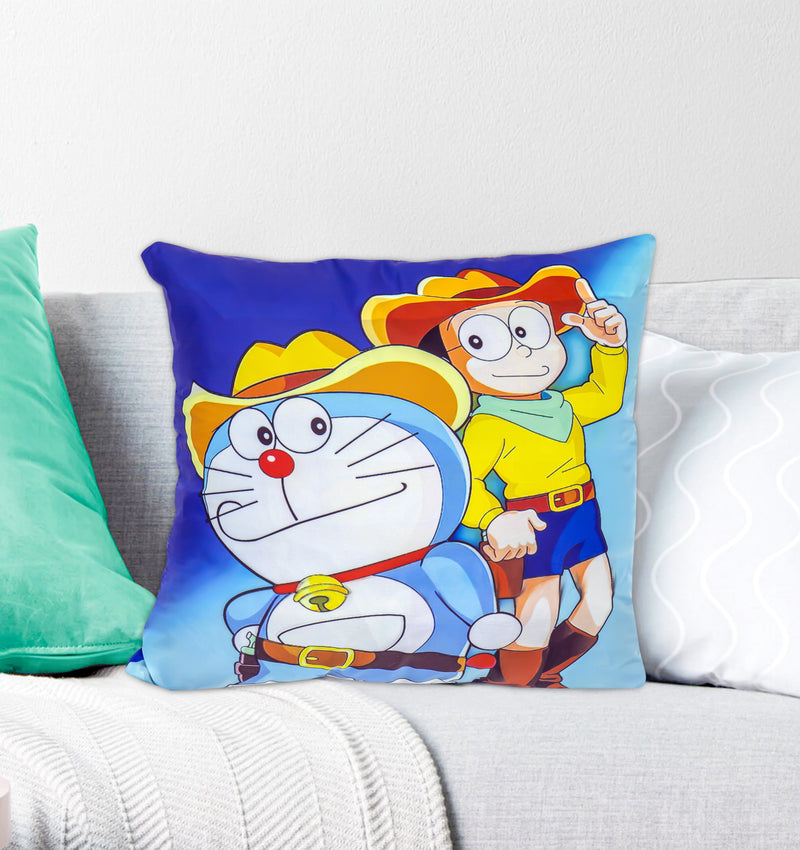 Digital Kids Cushions Cover - Doraemon