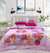 4 Pillows Bed Sheet - Barbie