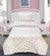 3 Pieces Single Cartoon Reversible Bed Spread Set- Unicorn,s